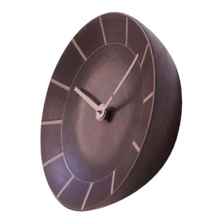Gordon and Jane Martz for Marshall Studios Stoneware Wall Clock For Sale