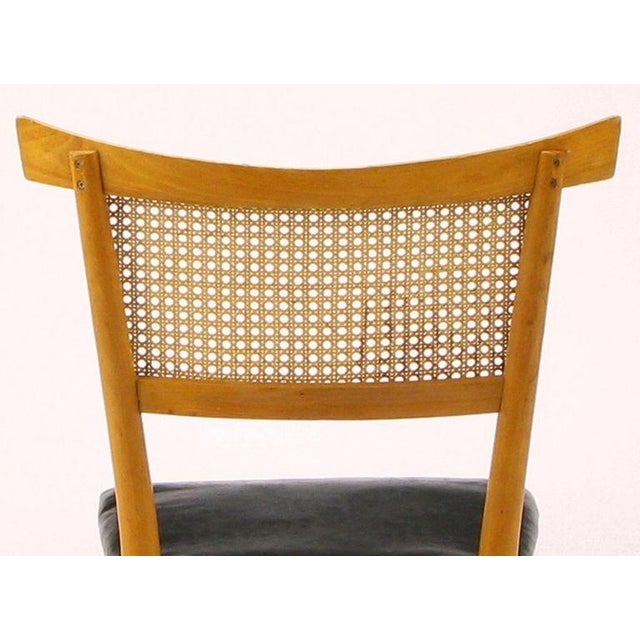 Four Paul McCobb Maple Perimeter Group Dining Chairs - Image 6 of 8