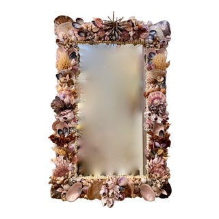Living Color Organic Rectangular Mirror For Sale