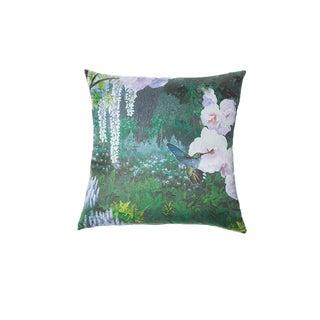 Silk Hummingbird Pillow For Sale