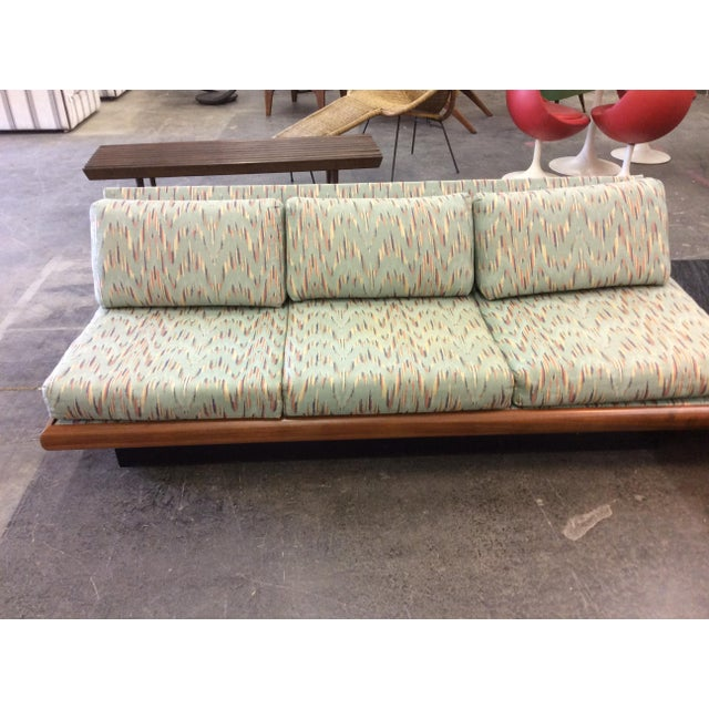Textile Adrian Pearsall Craft Associates 3 Piece Sectional Sofa For Sale - Image 7 of 11