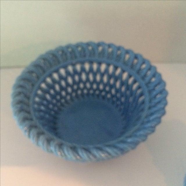 Blue Italian Potpourri Covered Dish - Image 4 of 9