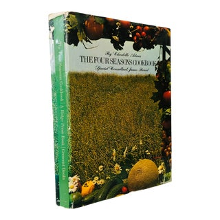 """1971 """"The Four Seasons Cookbook"""" First Edition Book For Sale"""