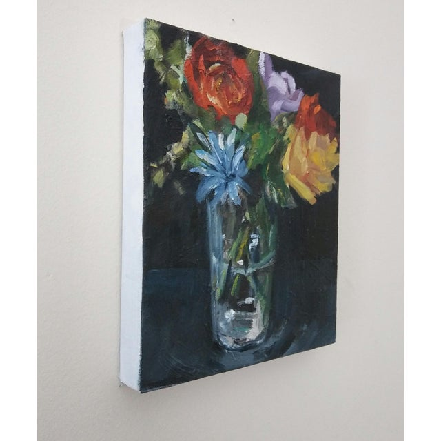 2010s Paula McCarty Summer Bouquet Still Life Painting For Sale - Image 5 of 6
