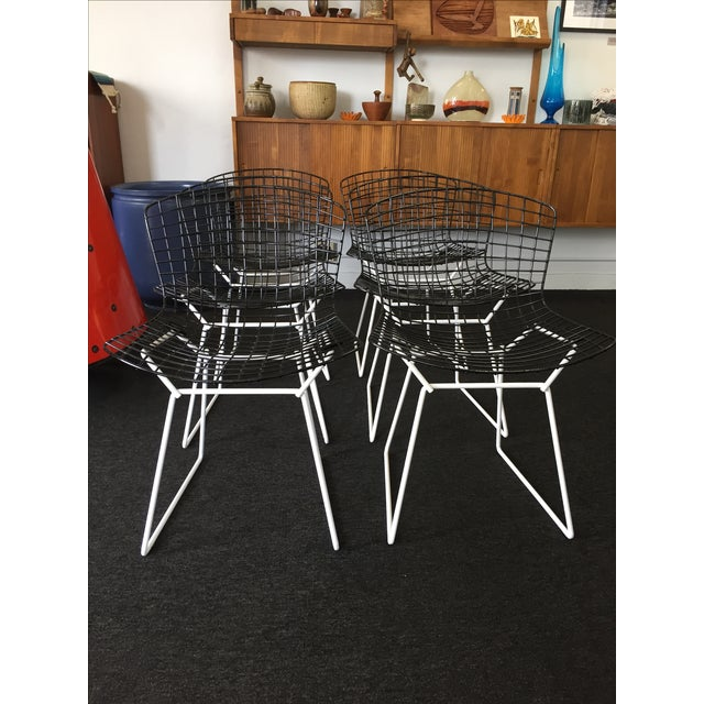 Harry Bertoia for Knoll Wire Chairs - Set of 6 - Image 7 of 8