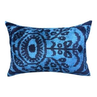 Turkish Velvet Evil Eye Pillow