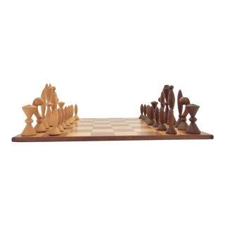 """Arthur Elliot for Anri Italy """"Universum"""" Chess Set For Sale"""