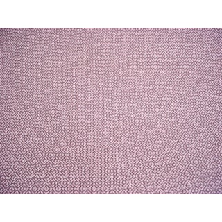Traditional Zoffany Sanderson 236487 Linden Orchid Lattice Weave Upholstery Fabric - 5-3/4y Z For Sale