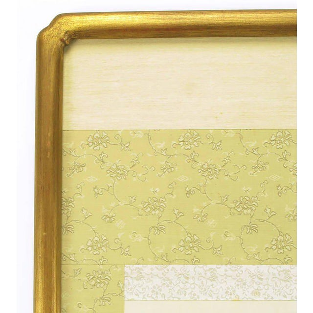 """67"""" Japanese Watercolor In Gilt Newcomb-Macklin Frame For Sale - Image 4 of 8"""