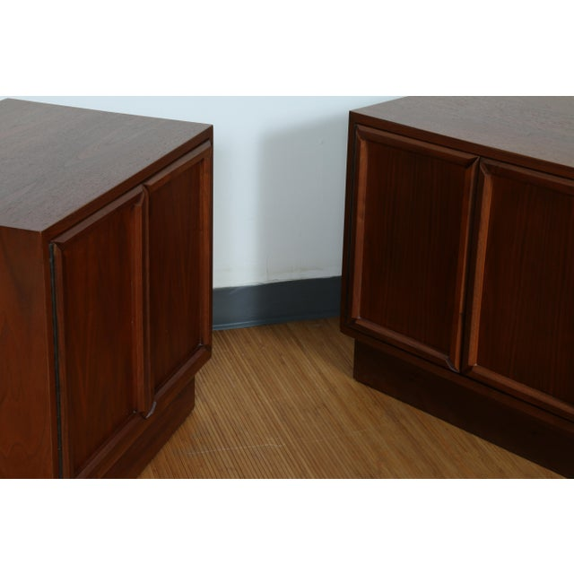 Brown & Saltman for John Keal Nightstands - A Pair For Sale - Image 10 of 11