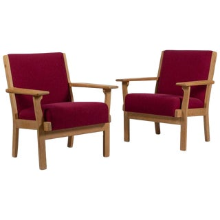Hans Wegner Style Getama Armchairs For Sale