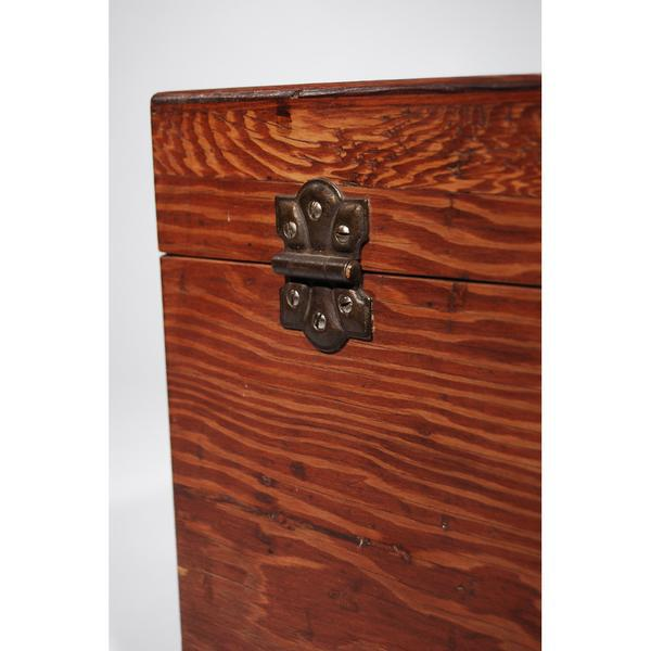Mid-Century Travel Trunk For Sale - Image 10 of 11