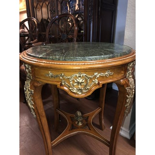 French Ormolu Mounted Side Marble Tables - a Pair Preview