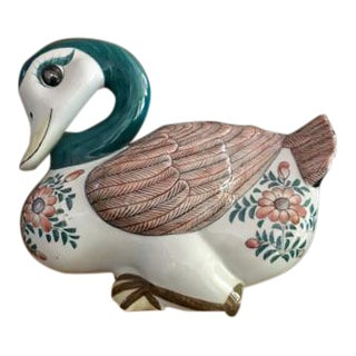 Maitland-Smith Porcelain Mandarin Duck
