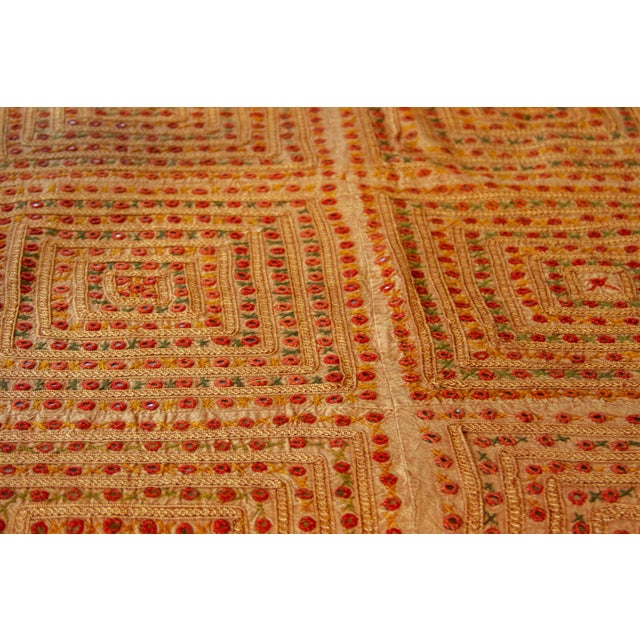 Oshma Sheesha Coverlet For Sale - Image 4 of 8