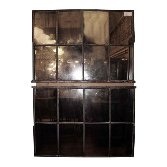 Reclaimed Eight Light Industrial Mirrored Window - Image 4 of 4