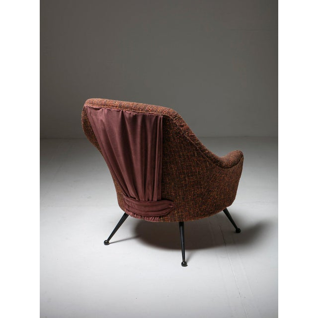 "Marco Zanuso ""Martingala"" Lounge Chair by Marco Zanuso for Arflex For Sale - Image 4 of 7"