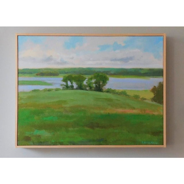 """""""Afternoon by the River"""" Painting - Image 3 of 6"""