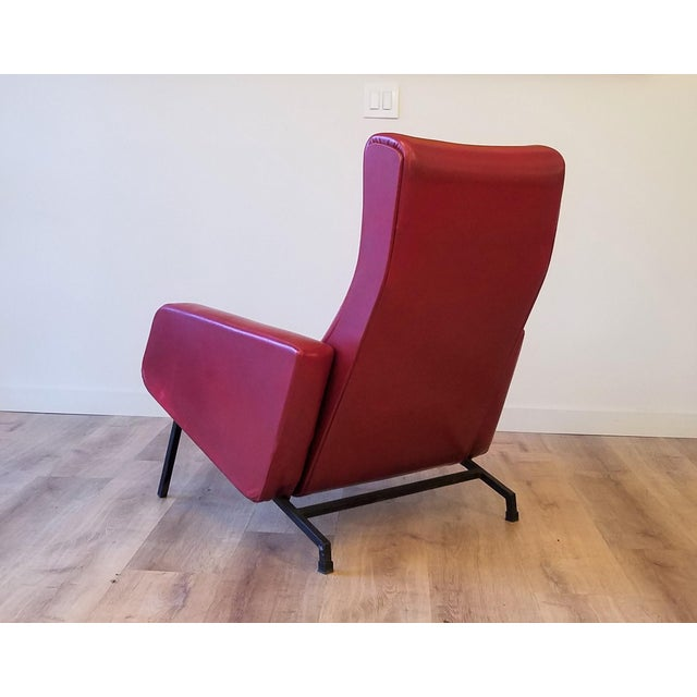 """Vintage Pierre Guariche """"Trelax"""" Reclining Lounge Chair For Sale In Seattle - Image 6 of 12"""