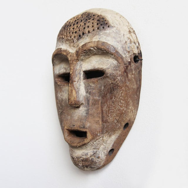 Carved Wooden Lega Origal Mask - Image 2 of 3