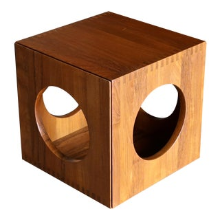 Jens Quistgaard Cube Occasional Tables for Richard Nissen, Circa 1982 For Sale