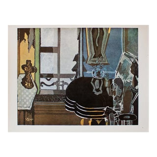 "1940s Georges Braque, ""Interior"" Original Period Swiss Lithograph For Sale"
