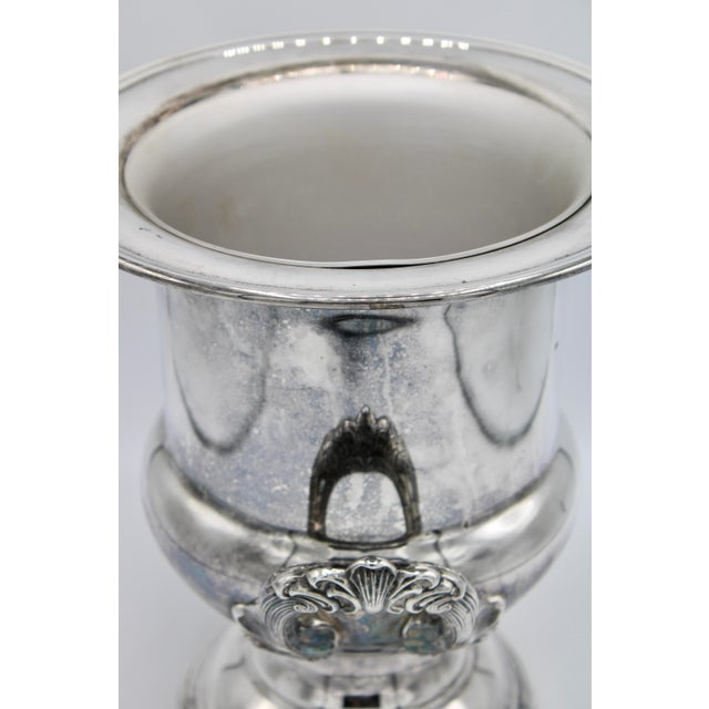 Mid-Century French Silver Plate Champagne Ice Bucket For Sale In Tulsa - Image 6 of 13