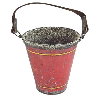 English Antique Fire Bucket For Sale