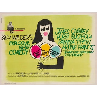 """Saul Bass """"One, Two, Three"""" For Sale"""