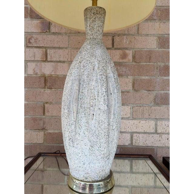 Mid-Century Ceramic Table Lamp - Image 4 of 5