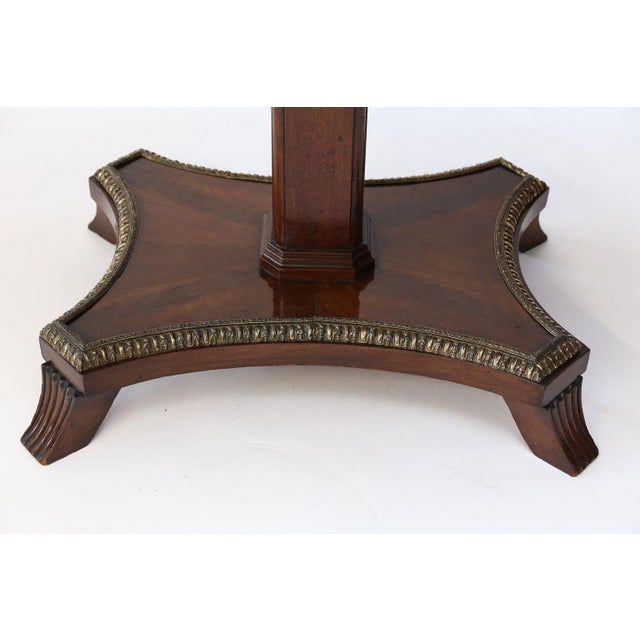 English Regency Center Table For Sale - Image 12 of 13