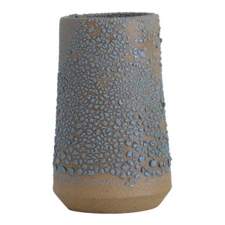 Turquoise Speckled Vase