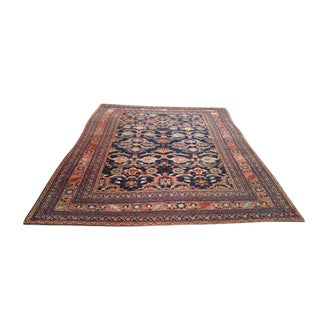 Antique Persian Heriz Hand Made Knotted Rug - 7′ × 9′6″ - Size Cat. 7x10 8x10
