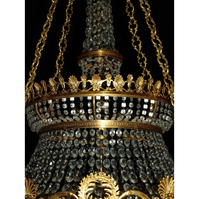Antique Chandelier. Empire Style Chandelier - Image 6 of 7