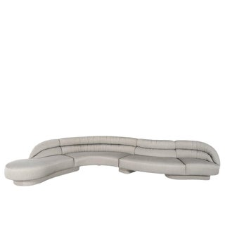 Vladimir Kagan Serpentine Sofa For Sale