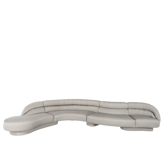 Vladimir Kagan Serpentine Sofa For Sale