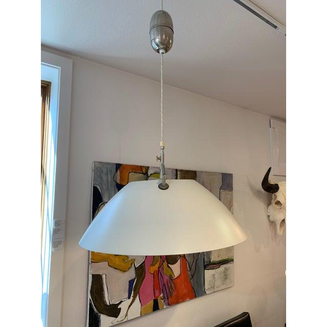Metal Hans Wegner for Louis Poulsen, Jh 604 Pendant Lamp Circa: 1960 For Sale - Image 7 of 7