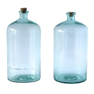 French 10l Jars - A Pair