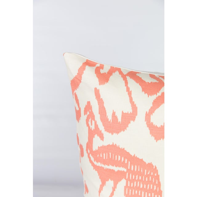 Orange China Seas Bali Isle Pillows - A Pair - Image 2 of 5