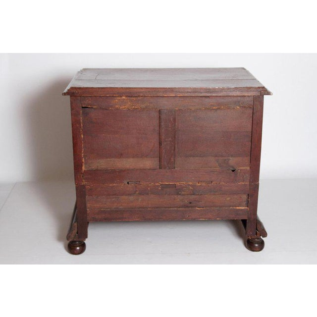 Brown A Late 19th Century Oak Jacobean Style Chest For Sale - Image 8 of 13