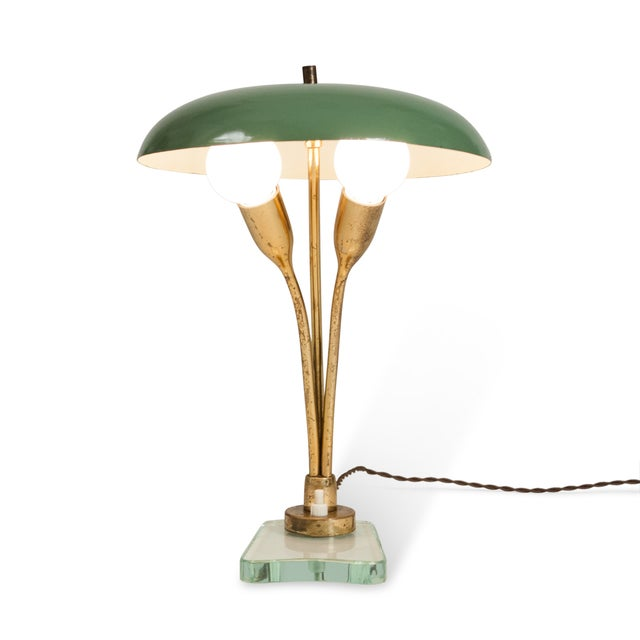 Italian Mid-Century Dome Shade Desk Lamp - Image 9 of 9