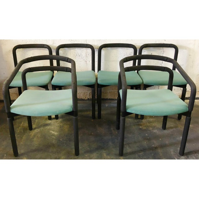 Set of 6 Chairs by Metropolitan For Sale - Image 9 of 9