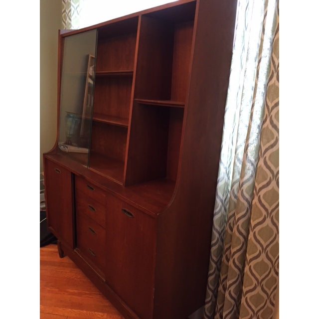 Mid Century Modern China Cabinet - Image 3 of 4