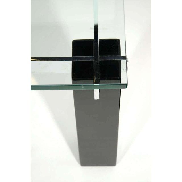 Gabriella Crespi Crespi Italian Mid-Century Modern Architectural Coffee Table For Sale - Image 4 of 11