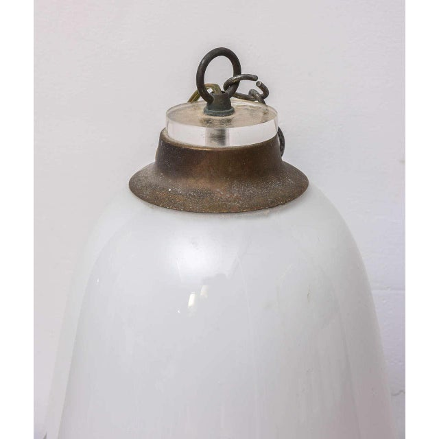 Murano Vintage Overhead Bank Lamp from 1940s Italy For Sale - Image 5 of 8