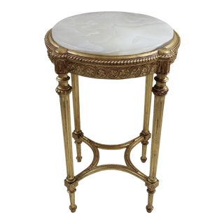 Louis XVI Style Gueridon Table For Sale