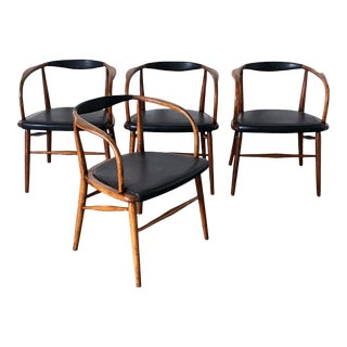 Jack Cartwright for Boling Furniture Set of 4 Dining Chairs For Sale