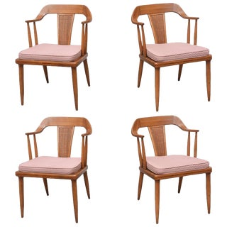 Tomlinson of High Point, Set of Four Dining Chairs, Usa, 1957 For Sale