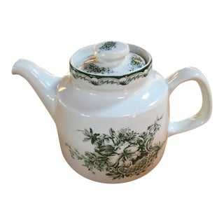 Rorstrand Gron Anna Pattern Tea Pot For Sale