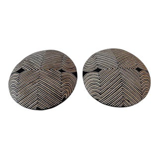 African Bamileke Shields Cameroon - a Pair For Sale